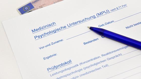 MPU Formular