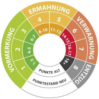 Punktestand Flensburg Alt-Neu